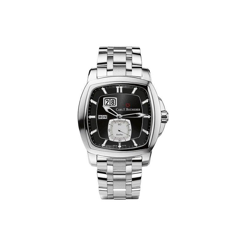 Pre-Owned Luxury Watches PRE-OWNED CARL F. BUCHERER Patravi Evo Tec BigDate Watch
