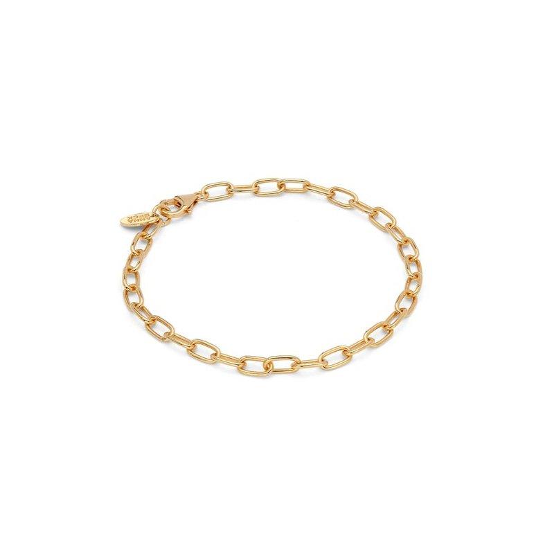 Anna Beck Elongated Chain Bracelet - Gold