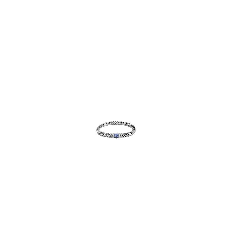 JOHN HARDY Classic Chain 6.5MM Reversible Pavé Icon Bracelet