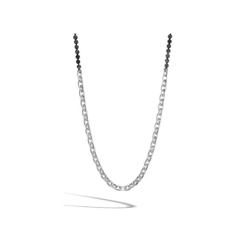 JOHN HARDY Classic Chain Black Onyx Necklace