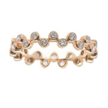 DIAMOND BUBBLE RING