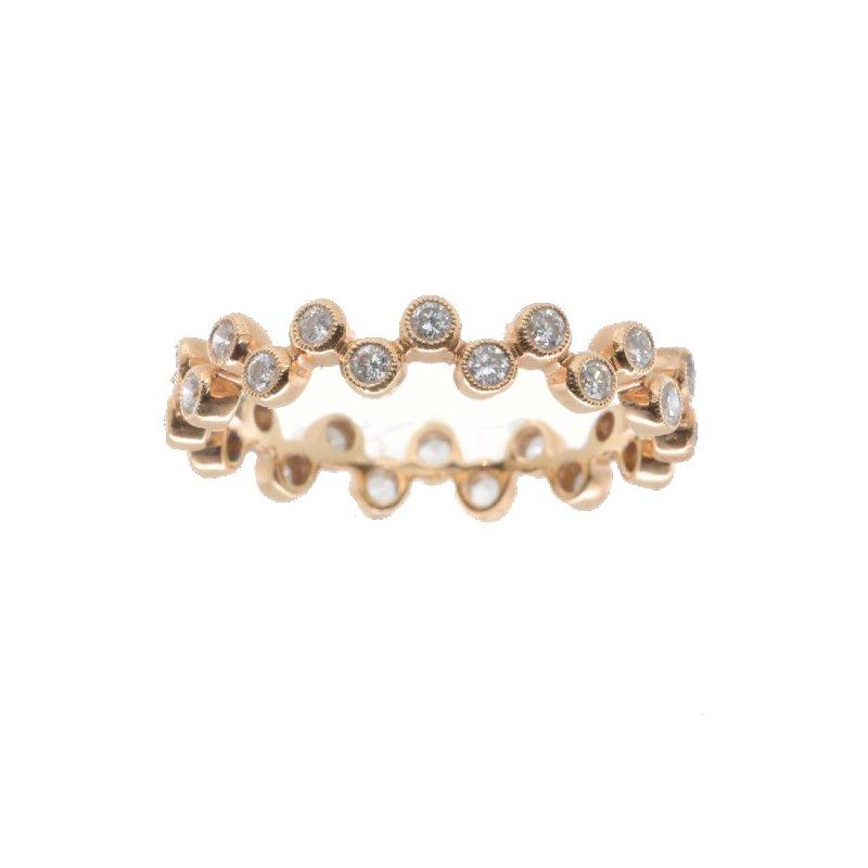 Beverley K DIAMOND BUBBLE RING