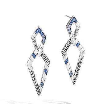 Lahar Double Marquise Drop Earrings