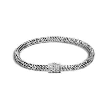 Classic Chain 5.5MM Pavé Icon Bracelet