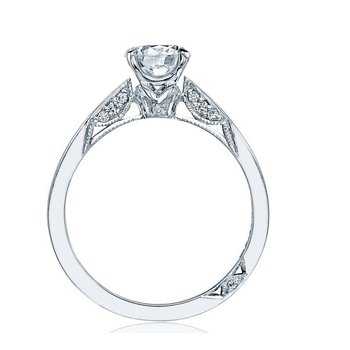 SIMPLY TACORI PAVE ENGAGEMENT RING