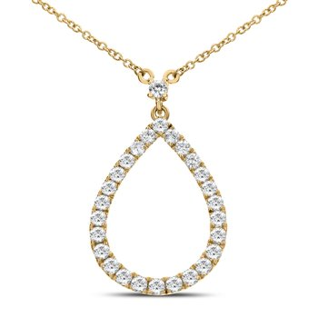 DIAMOND TEARDROP NECKLACE