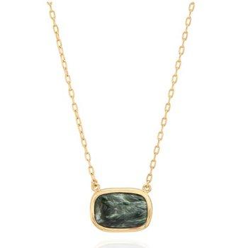 Seraphinite Cushion Necklace