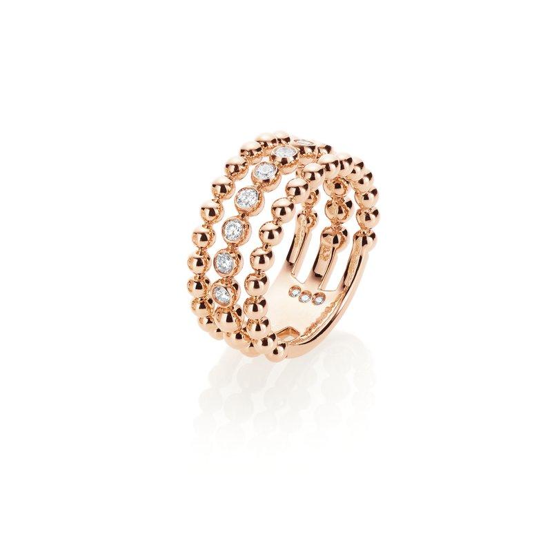Casato 18K rose gold diamond ring