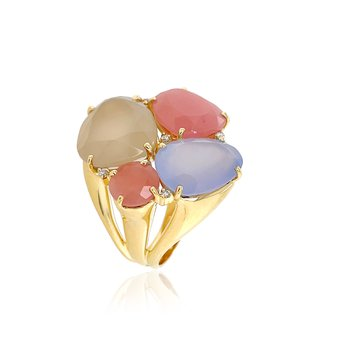 Four Stone Cocktail Ring