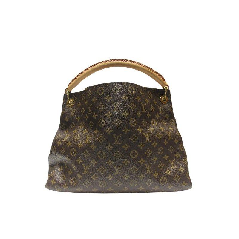 Pre-Owned Luxury Handbags LOUIS VUITTON Artsy Handbag Monogram Canvas MM