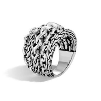 Asli Remix Stacked Ring
