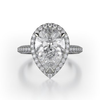 MICHAEL M. DEFINED PEAR ENGAGEMENT RING