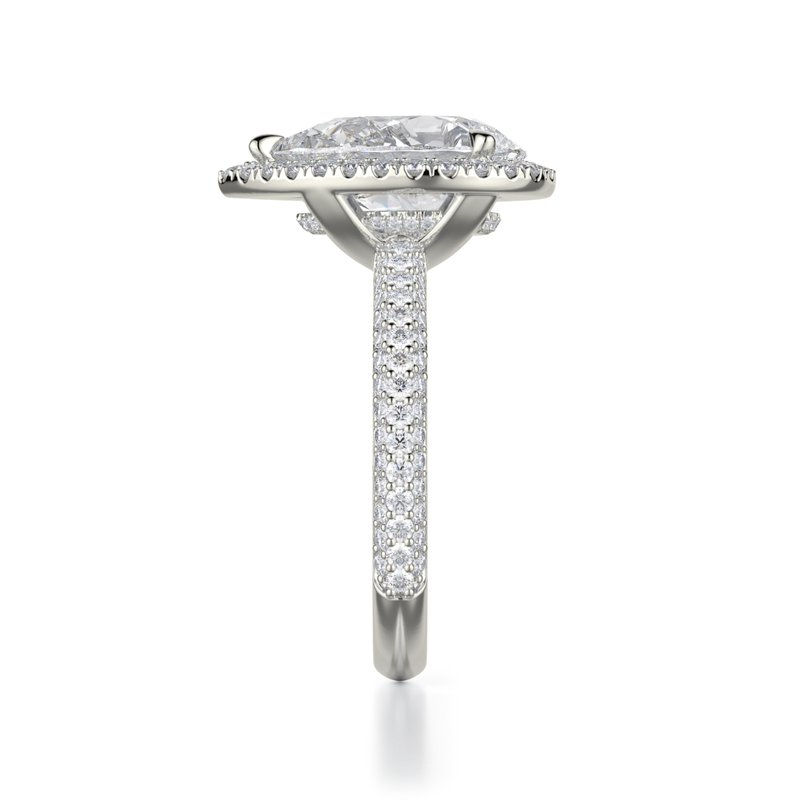 Michael M MICHAEL M. DEFINED PEAR ENGAGEMENT RING