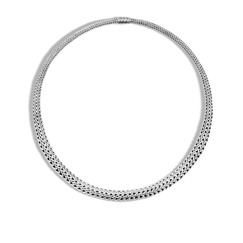 JOHN HARDY Classic Chain Graduated Silver Necklace