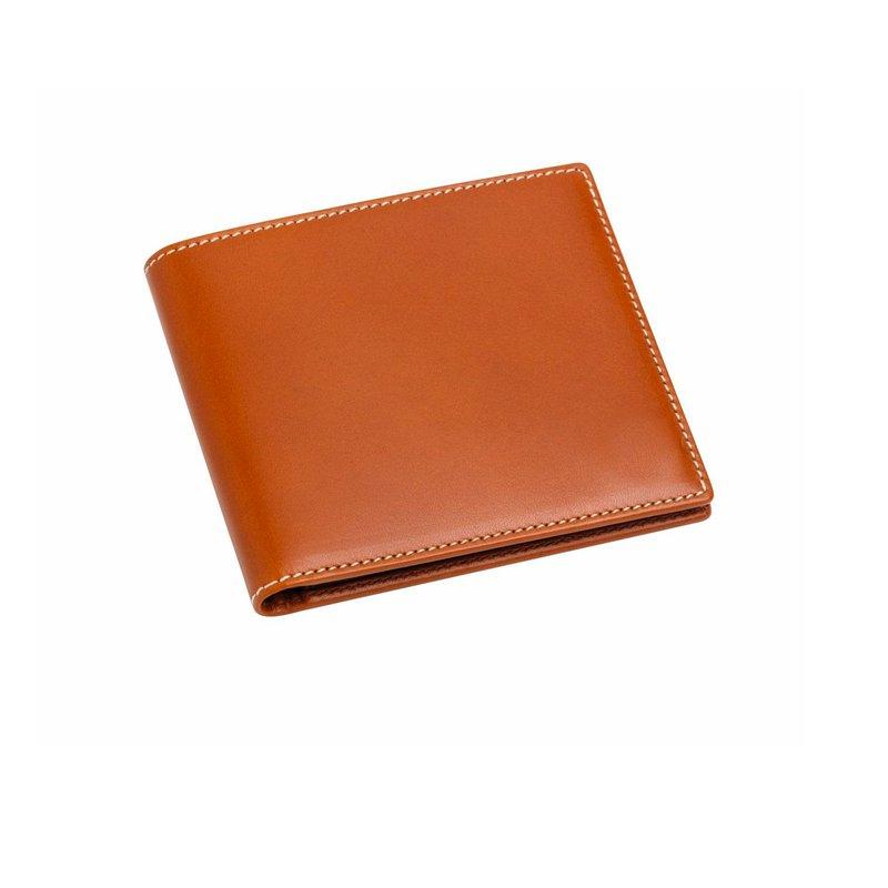 Pre-Owned Luxury Handbags WALLET TAN LEATHER