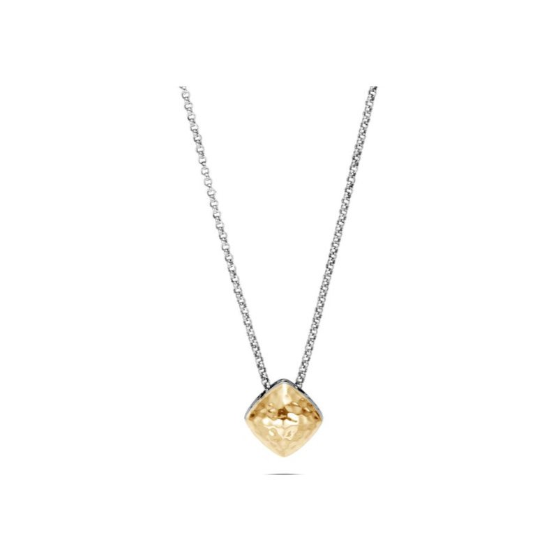 JOHN HARDY Classic Chain Hammered Sugarloaf Pendant Necklace