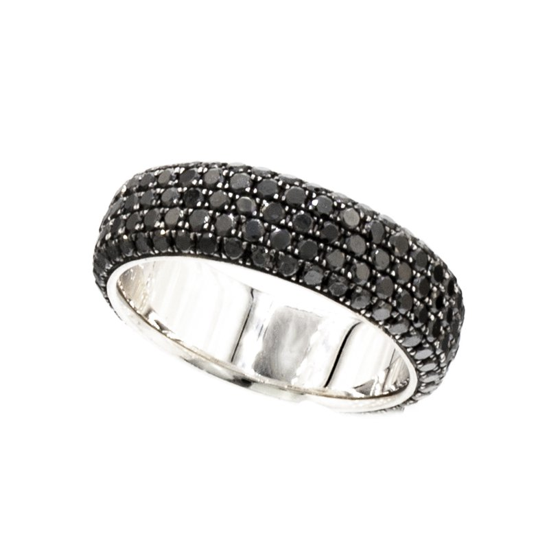 MAZZARESE Couture BLACK DIAMOND ETERNITY BAND