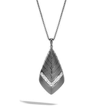 Modern Chain Pendant Necklace