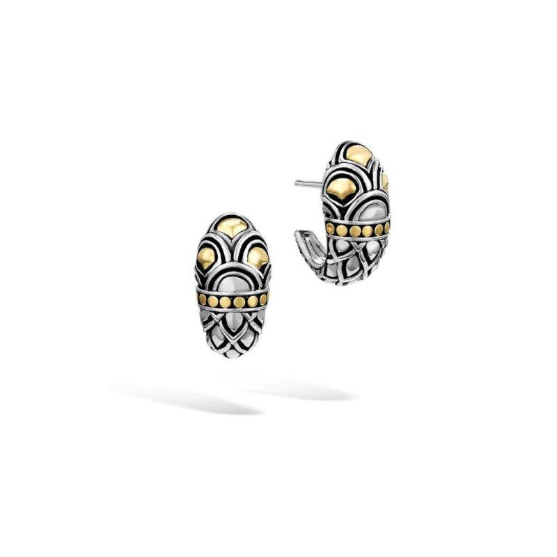 JOHN HARDY Naga Buddha Belly Earring