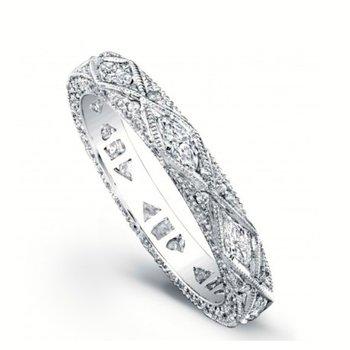 VINTAGE DIAMOND WEDDING BAND