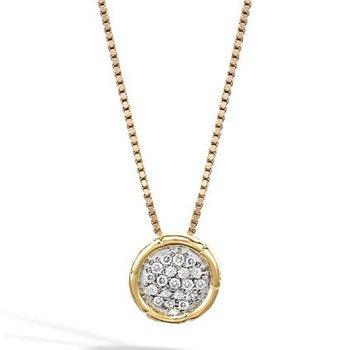 Pendant Necklace with Diamonds