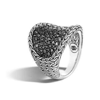 Classic Chain Saddle Ring