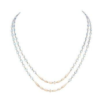 ETHO MARIA  Blue Topaz Necklace