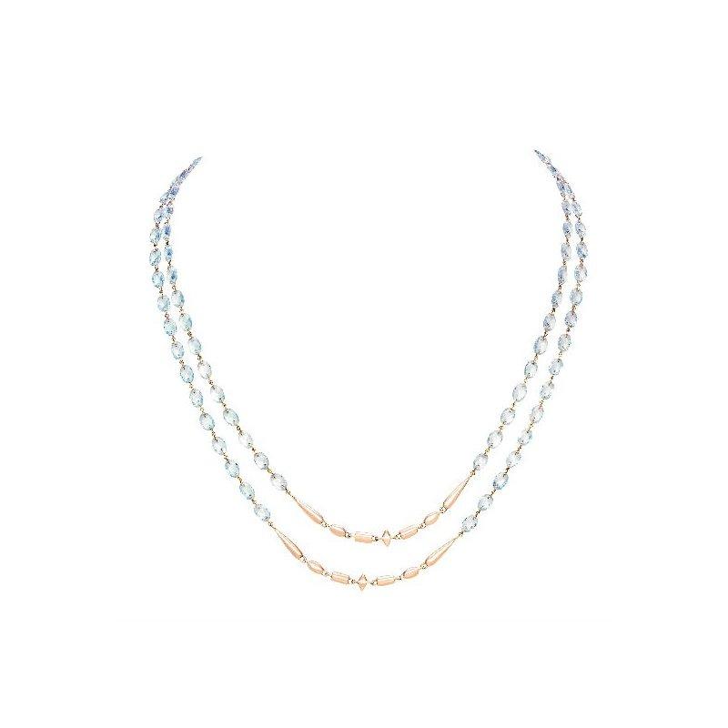 Etho Maria ETHO MARIA  Blue Topaz Necklace