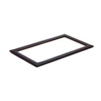 VAULT TRAY GLASS LID - BLACK