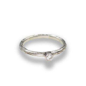 SARAH GRAHAM DIAMOND PEBBLED RING