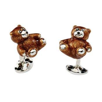DEAKIN & FRANCIS TEDDY BEAR CUFFLINKS