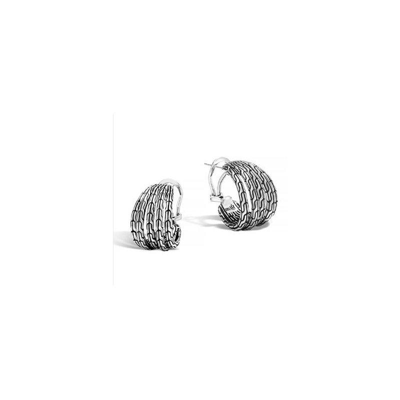 JOHN HARDY Classic Chain Hoop Earrings