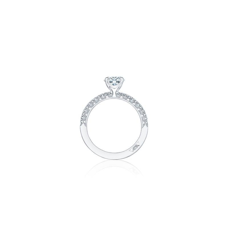 Tacori TACORI SOLITAIRE AND PAVE ENGAGEMENT RING