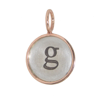 HEATHER B. MOORE - INITIAL G CHARM