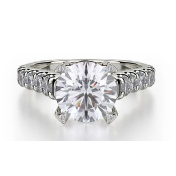 MICHAEL M STELL SOLITAIRE ENGAGEMENT RING