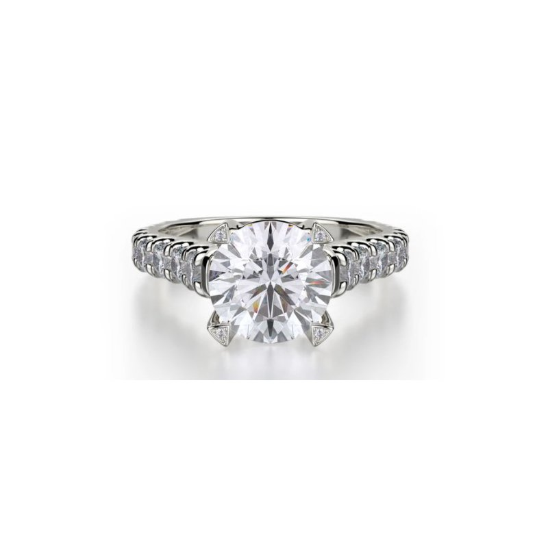 Michael M MICHAEL M STELL SOLITAIRE ENGAGEMENT RING
