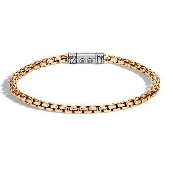Box Chain 4MM Bracelet