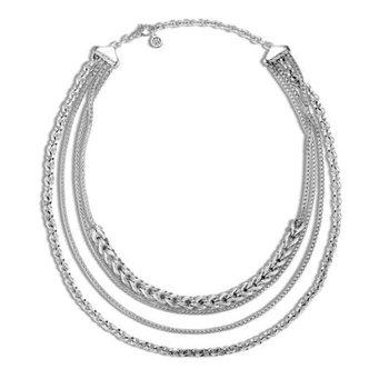 Asli Classic Chain Link Multi Row Necklace