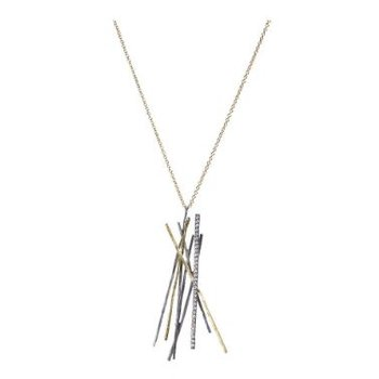 TODD REED MIXED METAL NECKLACE