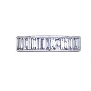 Sethi Couture Heritage Baguette Diamond Band