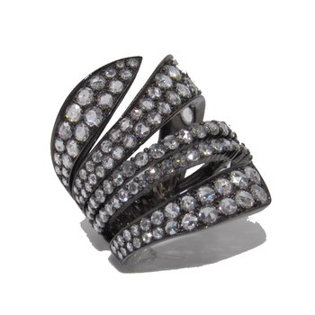 ETHO MARIA Black Diamond Ring
