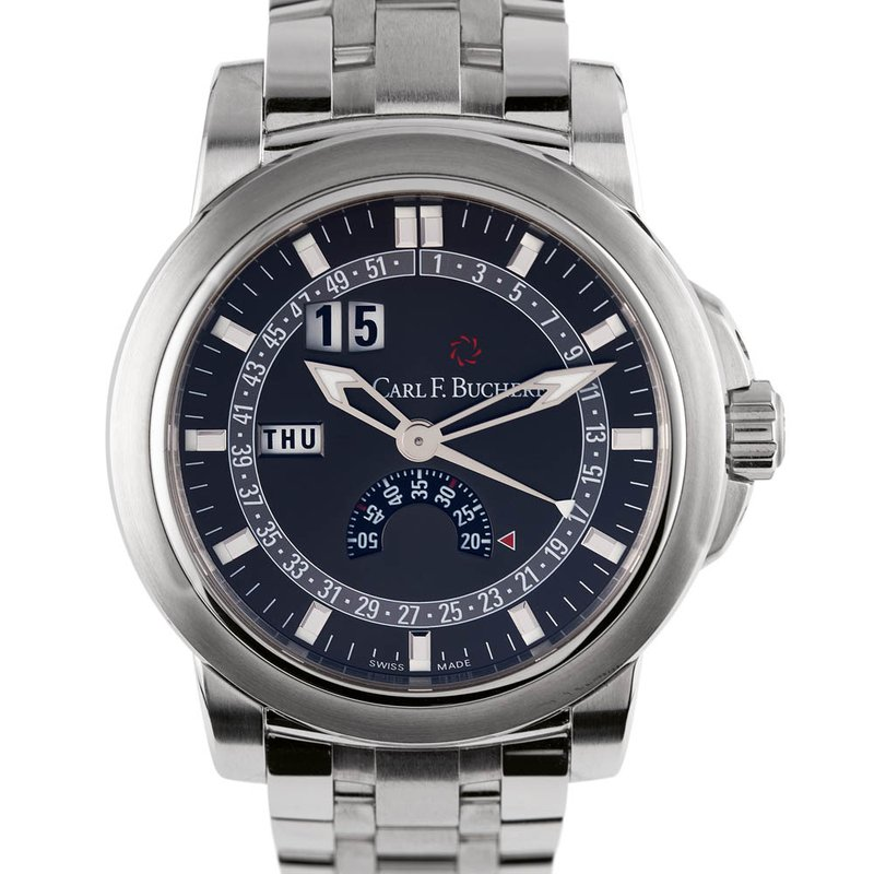 Pre-Owned Luxury Watches PRE-OWNED CARL F. BUCHERER Patravi Calendar