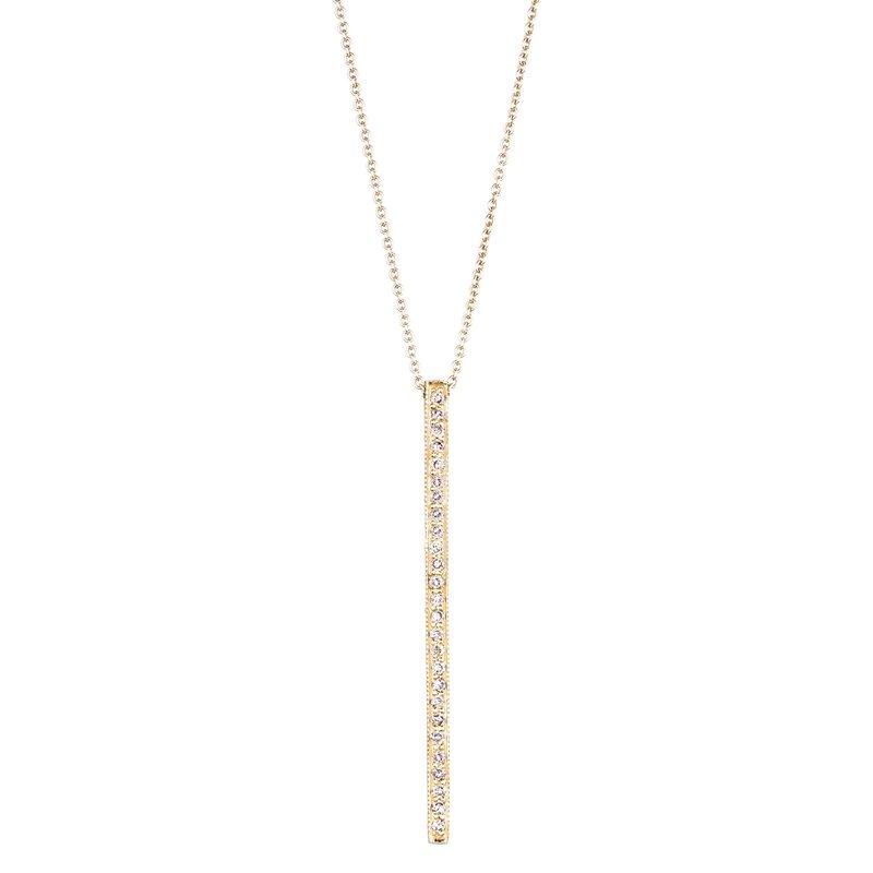 Sethi Couture Sethi Couture Alice Diamond Bar Necklace