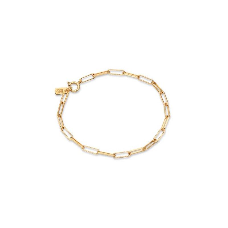 Anna Beck Elongated Box Chain Bracelet, Gold