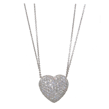 BERGIO DIAMOND HEART PENDANT