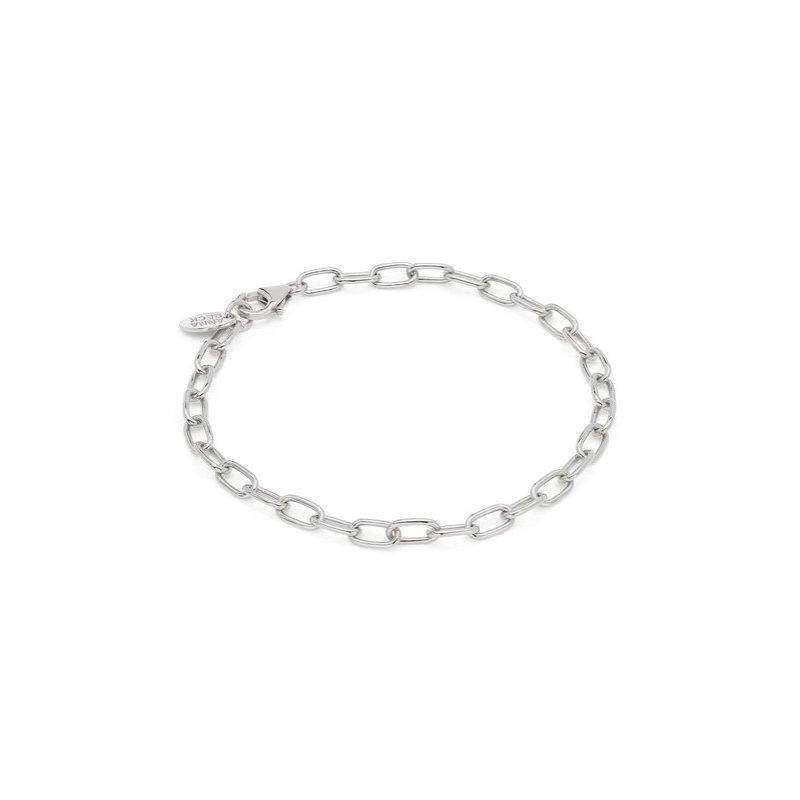 Anna Beck Elongated Chain Bracelet - Silver