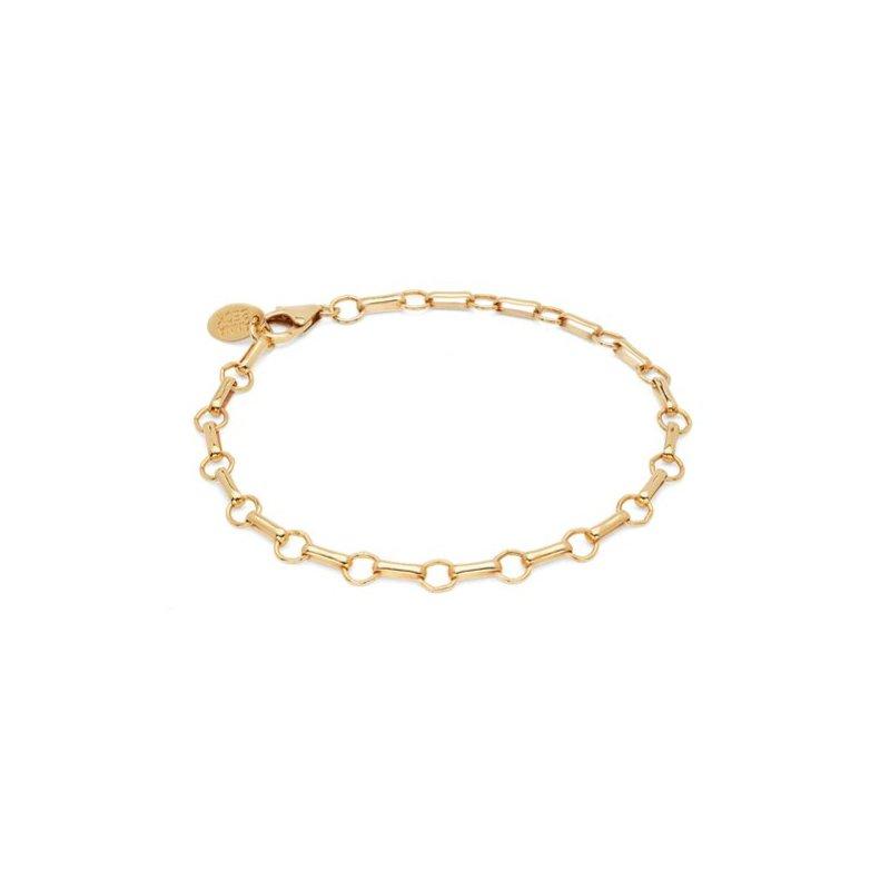 Anna Beck Bar & Ring Chain Bracelet - Gold