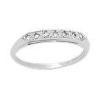 Estate Jewelry Vintage Platinum Wedding Band