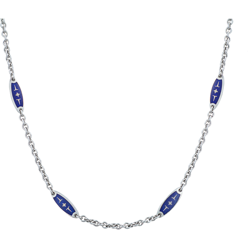 Faberge Enamelled Necklace
