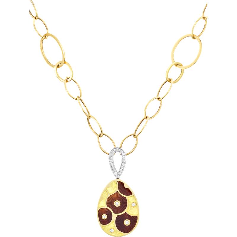 Faberge Parasol Necklace